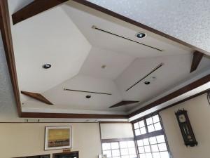 食堂-天井